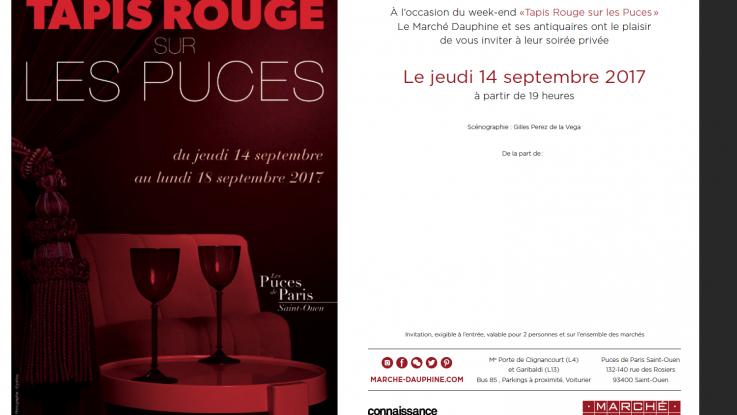 Souvent Le week end Tapis Rouge sur les Puces - Birch Bark Furniture France ® EN56