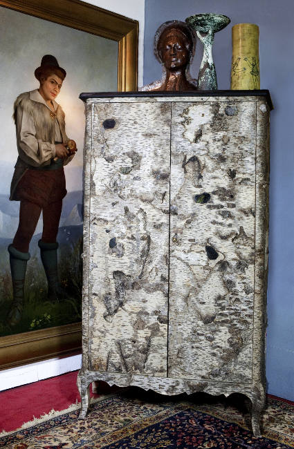 Armoire Louise Birch Bark