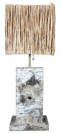 Lampe-Aragonite-Fleur