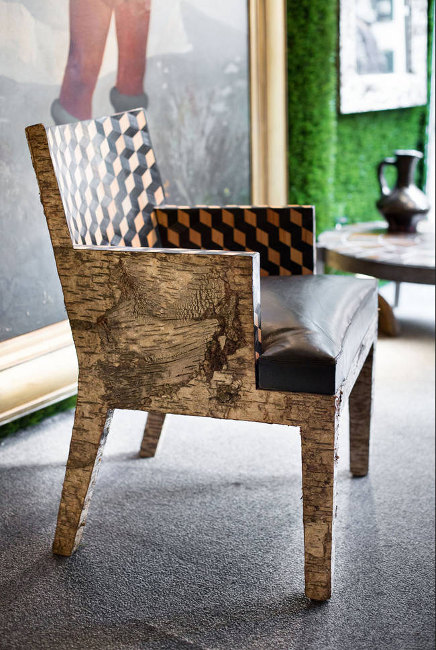 Fauteuil Paris par Birch Bark